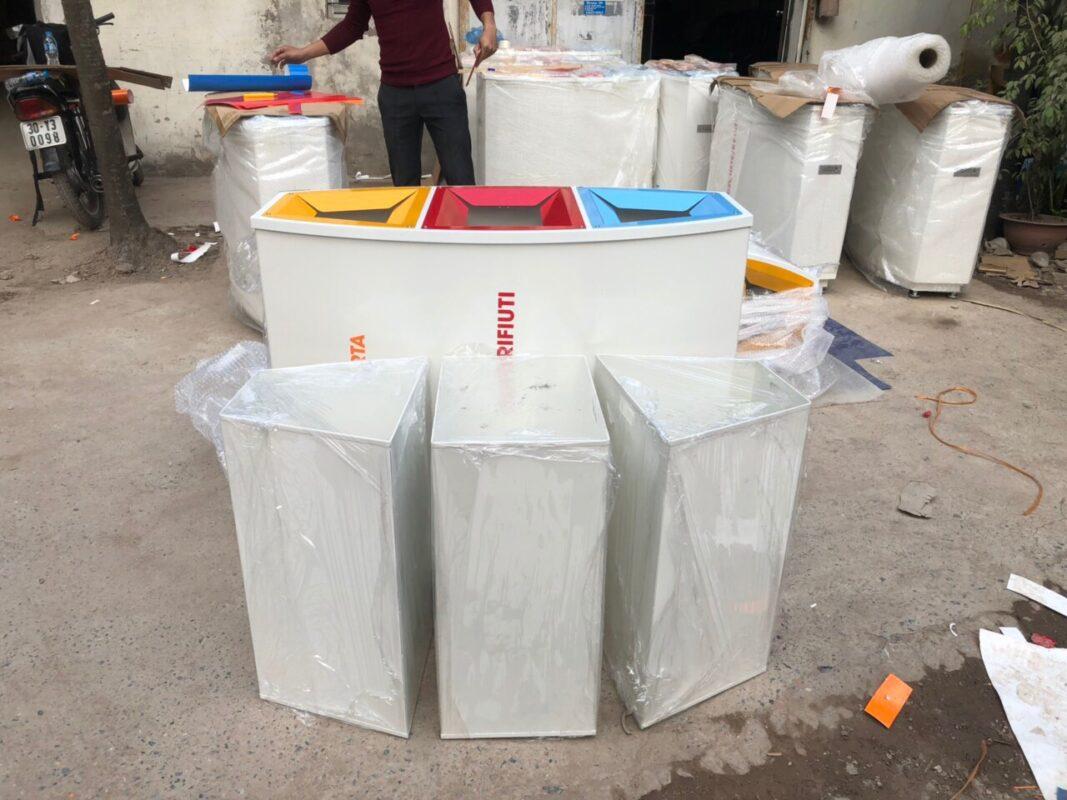 Thùng rác phân loại rác thải